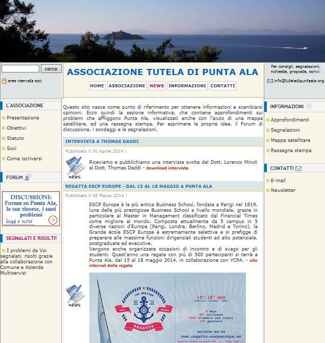sito web passato